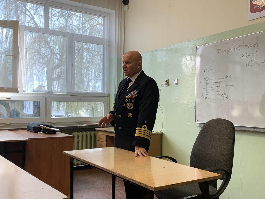 Spotkanie z instruktorem ratownictwa WOPR
