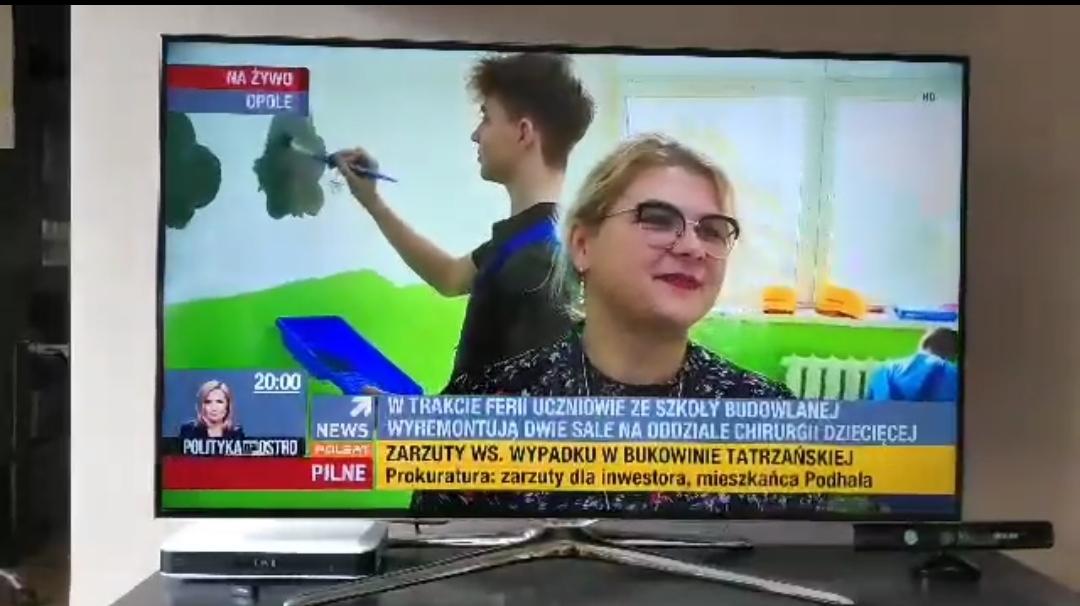 """Remont Sal  Uniwersyteckiego Szpitala Klinicznego """"Witosa"""" REPORTAŻ POLSAT !!!"""