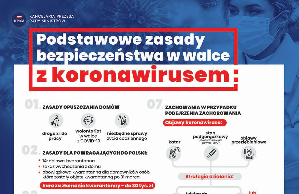 PODSTAWOWE zasady bezpieczeństwa w walce z koronawirusem – zapoznaj się.