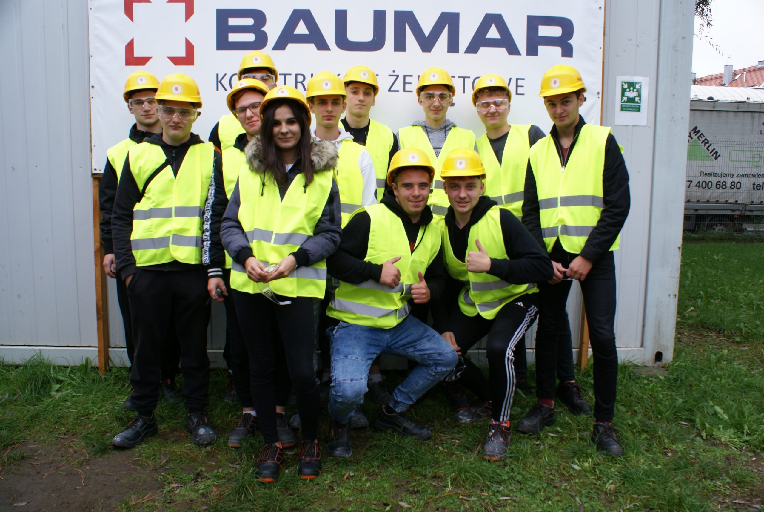 Wycieczka na budowę oczyszczalni ścieków w Opolu