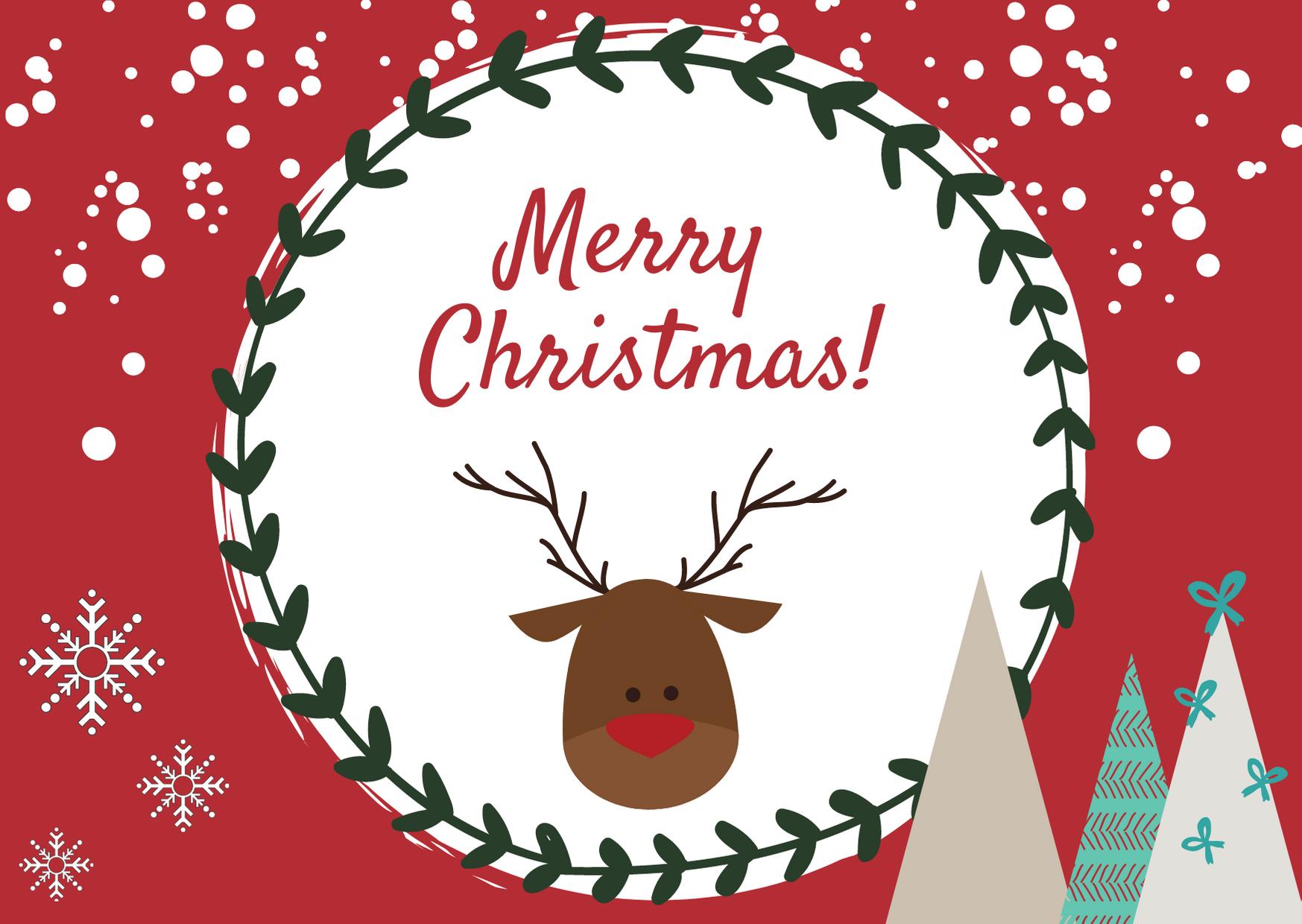 Konkurs na kartkę świąteczną w języku angielskim lub niemieckim