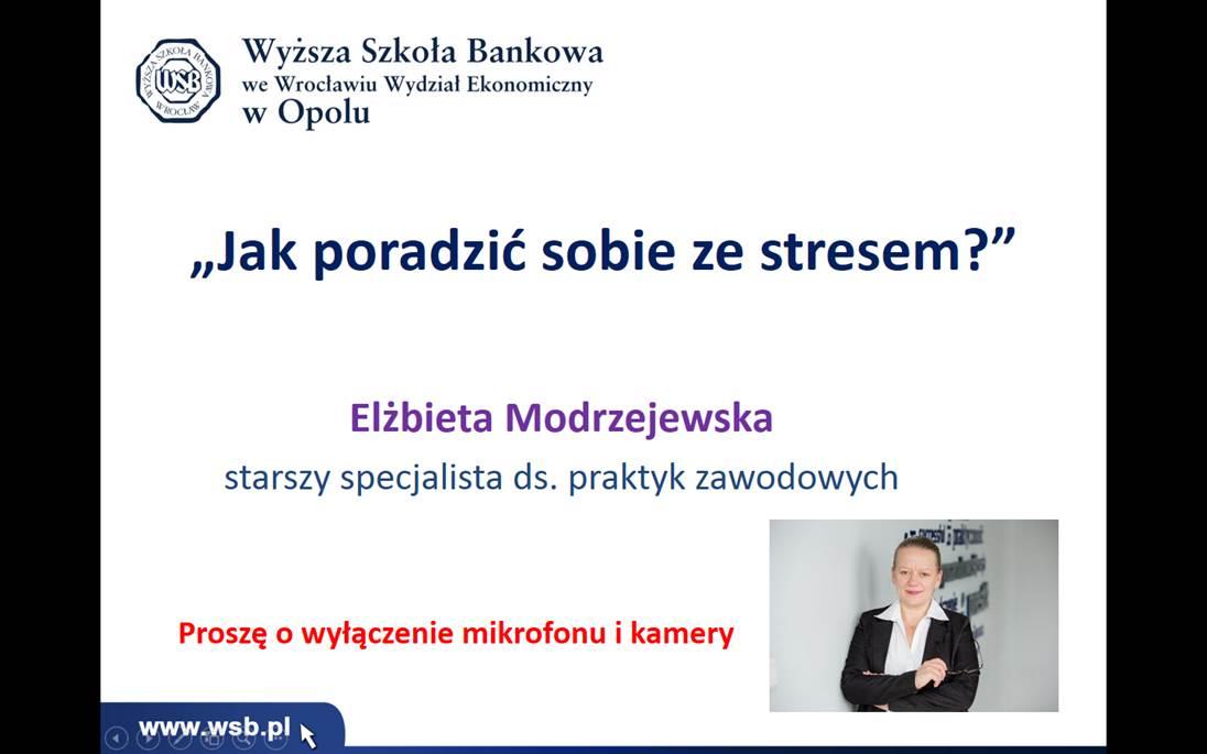 ZSB na warsztatach on-line