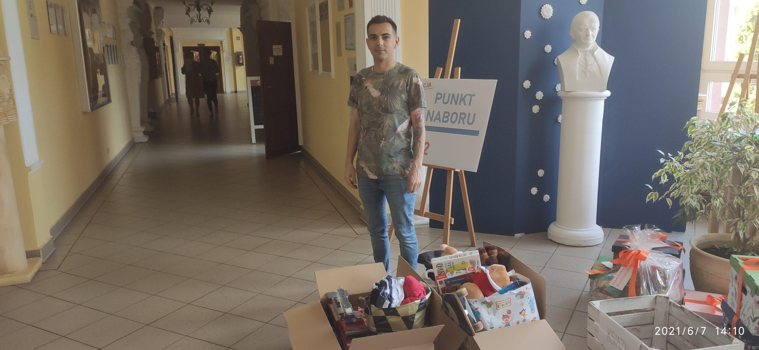 Finał kolejnej akcji charytatywnej