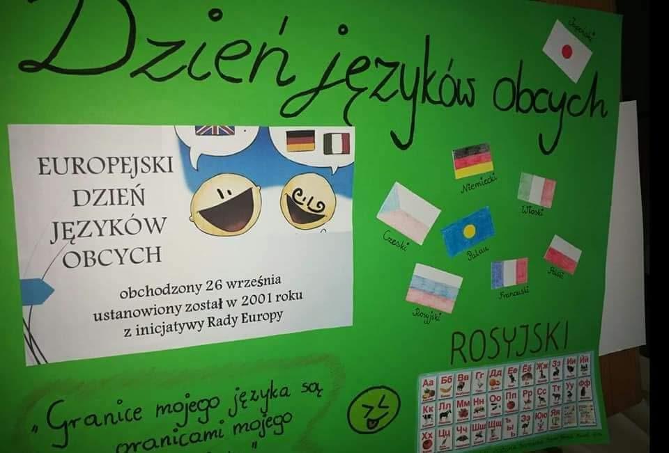 Konkurs na plakat promujący Europejski Dzień Języków Obcych